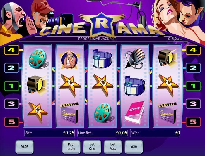 Play Cinerama Online Pokies at Casino.com Australia