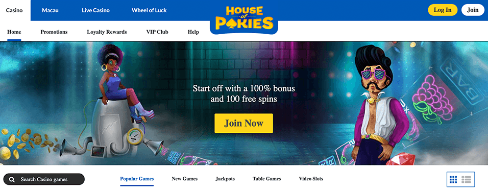 House of Pokies Introduction