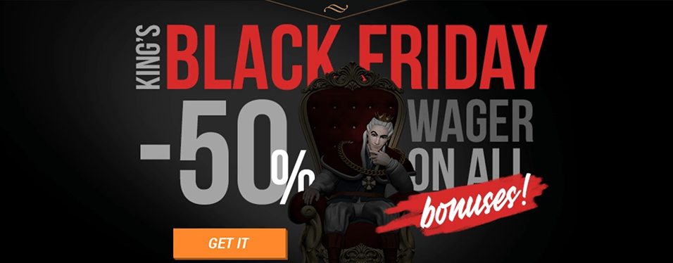 King Billy Black Friday Promo