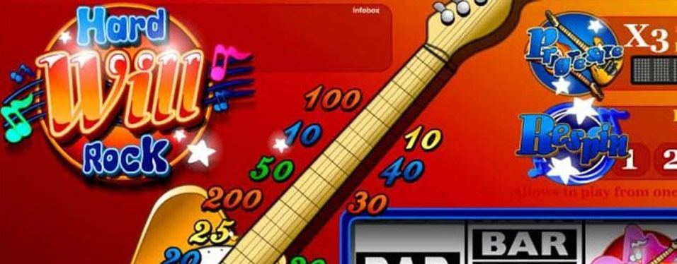 Hard Will Rock Slot - iSoftBet