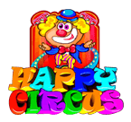 Play Happy Circus now at Sunset Slots Casino