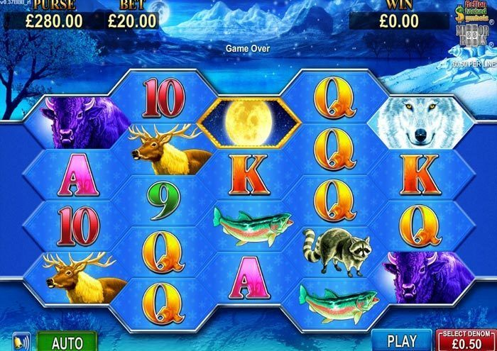Full Moon Diamond Slot