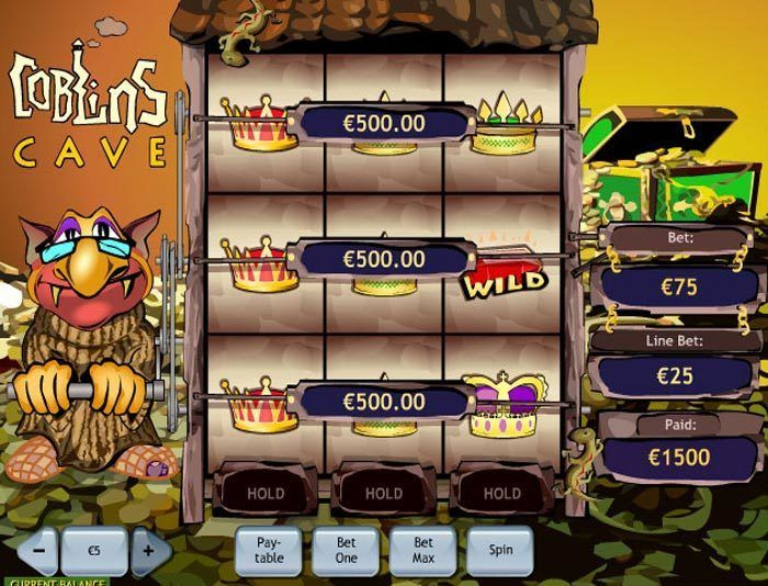 Play Goblins Cave Slots Online at Casino.com NZ