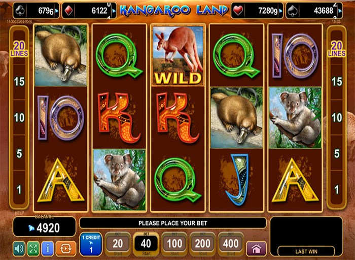 Kangaroo Land Pokie