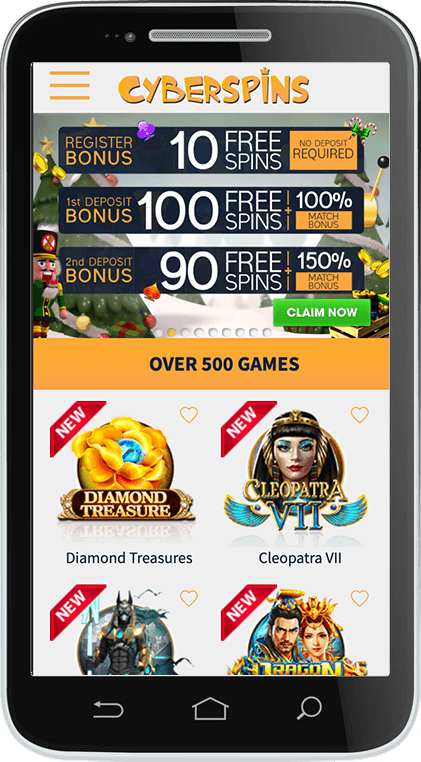 CyberSpins Mobile Casino