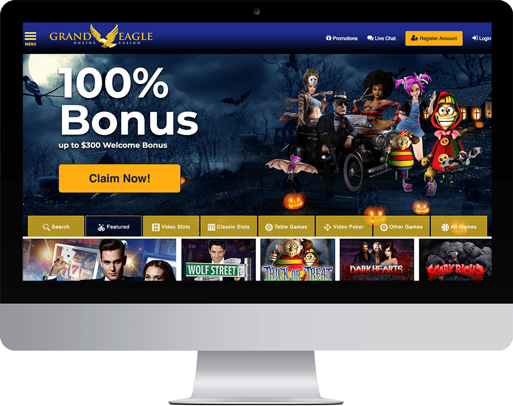 Grand Eagle Casino on desktop