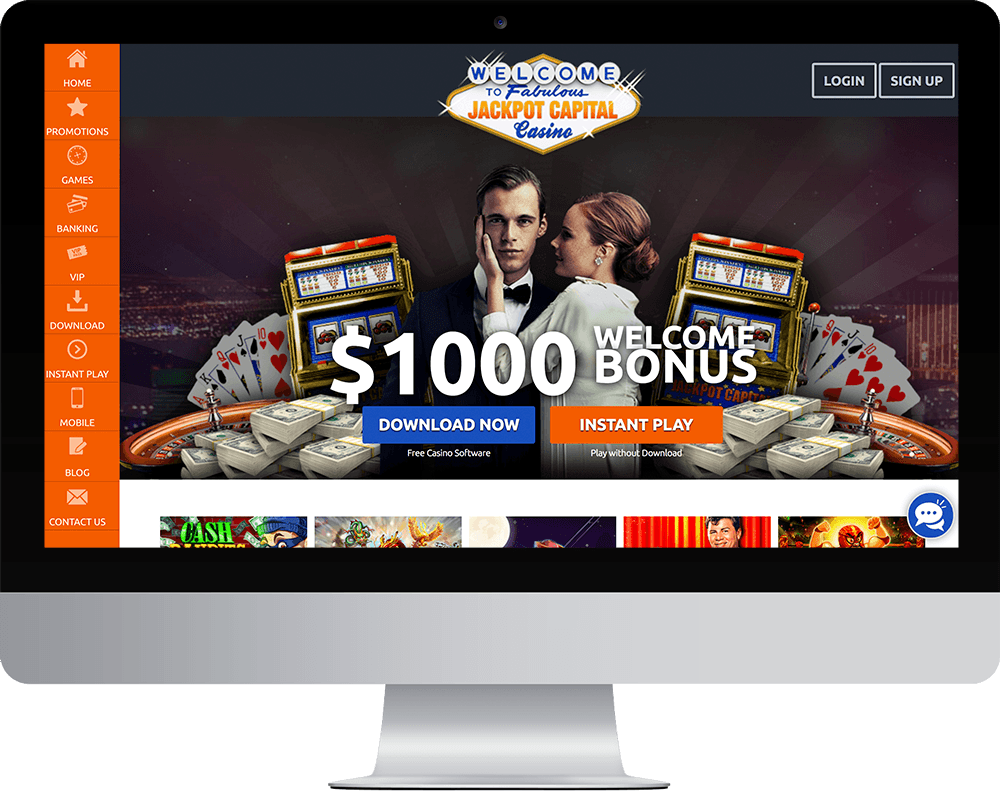 Jackpot Capital Casino on desktop