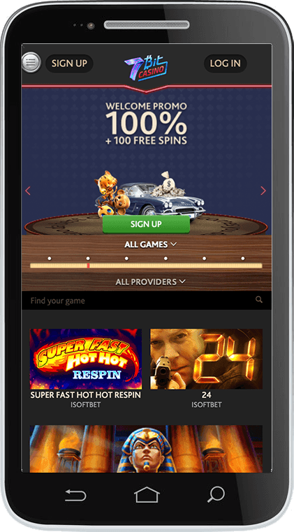 7Bit Casino on Mobile