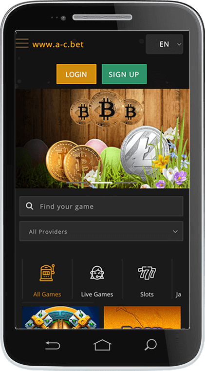 Anonymous Casino on Mobile