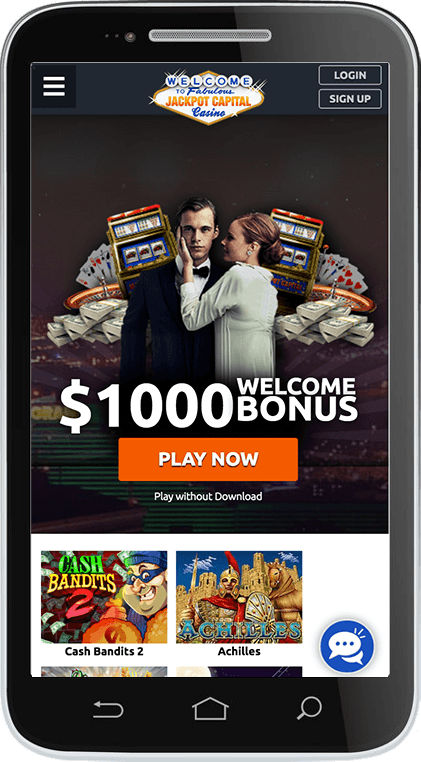 JAckpot Capital Casino on Mobile