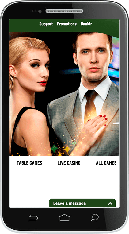 MaChance Casino on Mobile