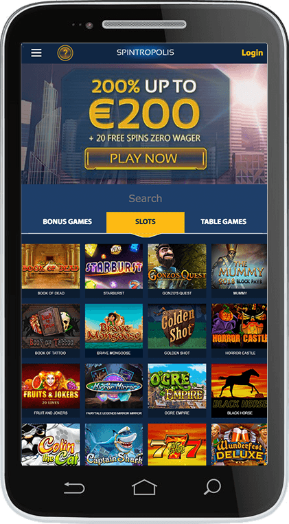 SpinSamba Casino on Mobile